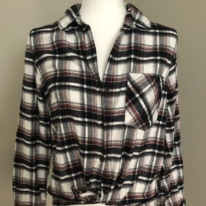 Forever 21 Flannel Shirt Sz M